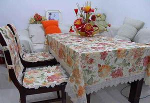 80平米現代輕奢桌布椅套效果圖