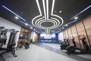 200平简约时尚风室内健身房装修效果图