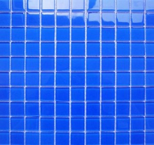 混搭風格衛生間藍色馬賽克裝修效果圖