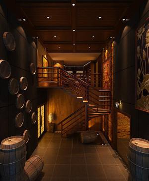 120平米中式酒館裝修效果圖