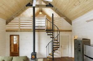 30平米閣樓斜面吊頂裝修效果圖