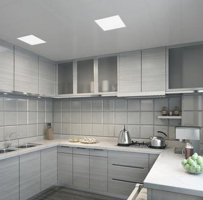 厨房卫生间集成吊顶现代创意风格装修效果图