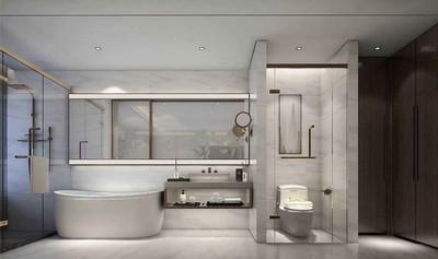 50平新中式风格宾馆卫生间吊顶装修效果图
