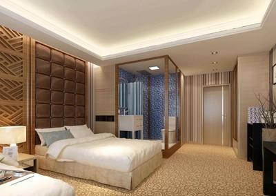 6平米简单风格宾馆卫生间吊顶装修效果图