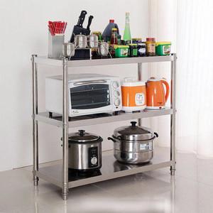 廚房三層微波爐置物架圖片