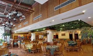 東南亞飯店玄關吊頂裝修效果圖