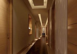 215平米飯店石膏板吊頂裝修效果圖