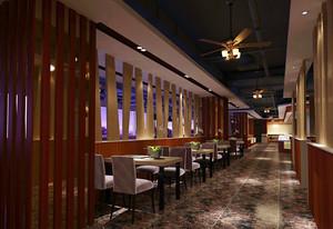 235平米飯店石膏板吊頂裝修效果圖