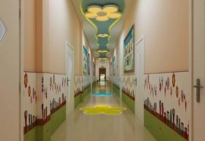 120平幼儿园走廊吊顶装饰效果图