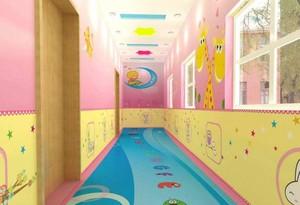 100平幼儿园走廊吊顶效果图
