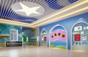 80平幼儿园走廊吊顶效果图