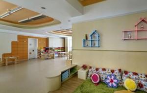90平幼儿园走廊吊顶装修效果图