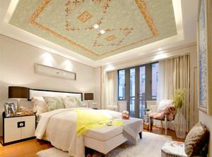 118平米臥室二級天花板吊頂裝修效果圖