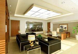 128平米客廳天花板菱形吊頂裝修效果圖