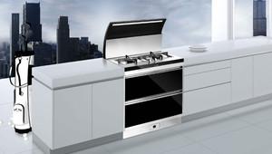 200平米房子廚房集成灶櫥柜裝修效果圖