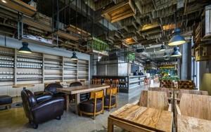 20平米咖啡厅平面装修效果图
