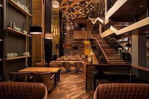 30平米咖啡厅平面装修效果图