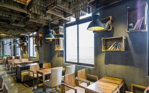 130平米咖啡厅平面装修效果图