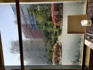 咖啡厅水幕墙装修效果图