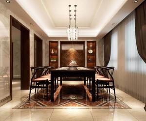 600平米中式餐馆装修效果图