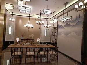 700平米中式餐馆装修效果图