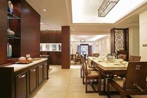 450平米中式餐馆装修效果图