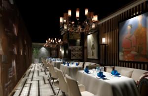 650平米中式餐馆装修效果图