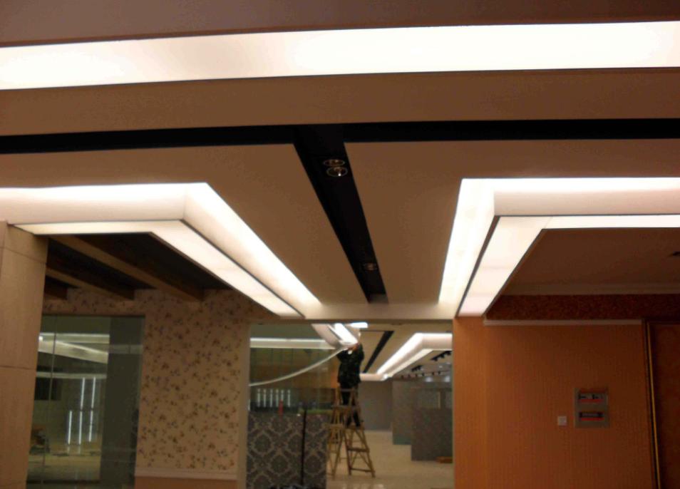 250平米軟膜吊頂裝修效果圖