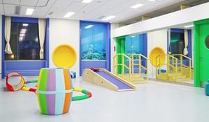 180平兒童醫院兒童康復訓練室裝修效果圖