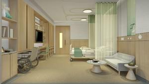 100平合肥醫院VIP病房裝修效果圖