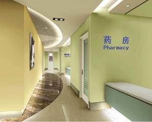 2000平合肥醫院走廊裝修效果圖