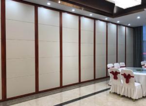 600平米飯店新中式風格活動屏風隔斷裝修效果圖