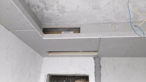 三居室美式风格卧室中央空调双层石膏板吊顶效果图