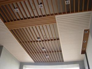 生態木石膏板飯店吊頂效果圖