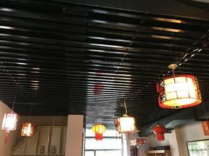 飯店餐廳石膏板吊頂效果圖大全