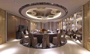 歐式飯店石膏板吊頂裝修效果圖