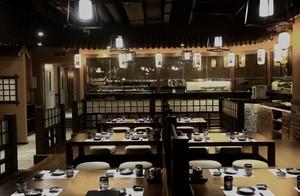 日式飯店石膏板吊頂效果圖