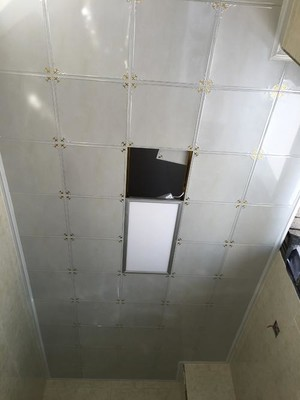 120平方别墅阳台铝扣板吊顶装修效果图