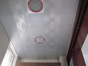 110平米房屋阳台铝扣板吊顶装修效果图