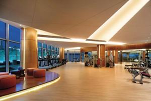 健身房橡胶地板效果图