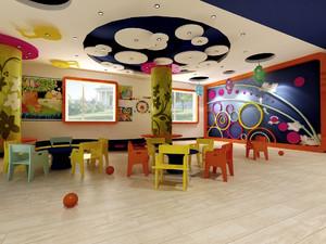 幼儿园橡胶地板效果图