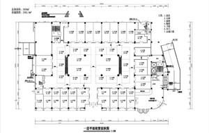 大型商场平面图