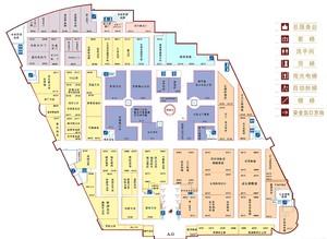 一层商场平面图