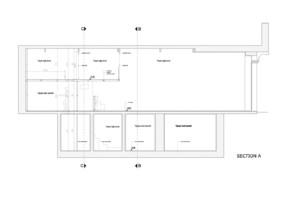 商场柜台平面图