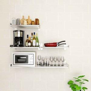 9平米厨房用品置物架装修效果图