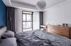 89平米房子现代欧式风格小卧室阳台吊顶装修效果图