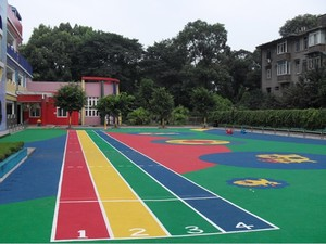 幼儿园室外地坪漆效果图
