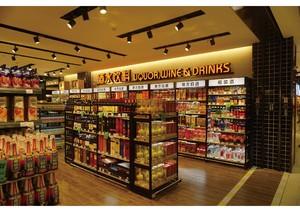 60平超市設計北歐現代風格裝修效果圖