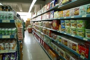 30平小型超市現代簡歐風格裝修效果圖