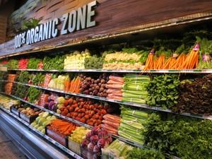 80平小型超市北歐現代風格裝修效果圖
